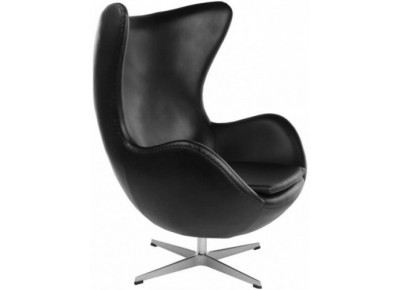 Кресло EGG CHAIR (ARNE JACOBSEN STYLE) A 219 черное
