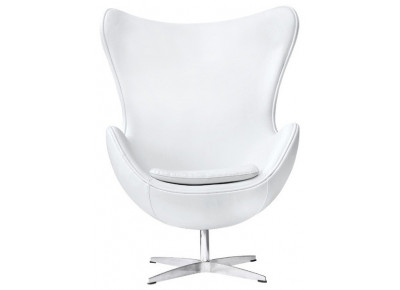 Кресло EGG CHAIR (ARNE JACOBSEN STYLE) A 219 белое